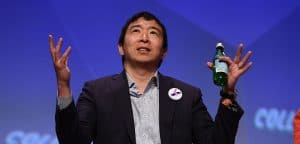 Tech-Reg,  is Andrew Yang crypto's man?
