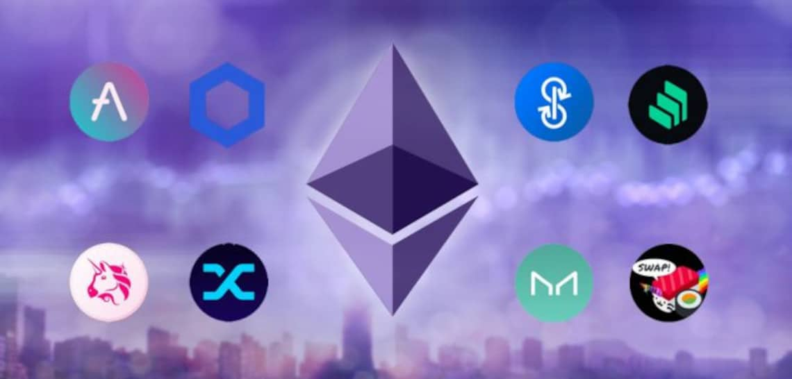 Read more about the article The best performing DeFi tokens of the year 2020