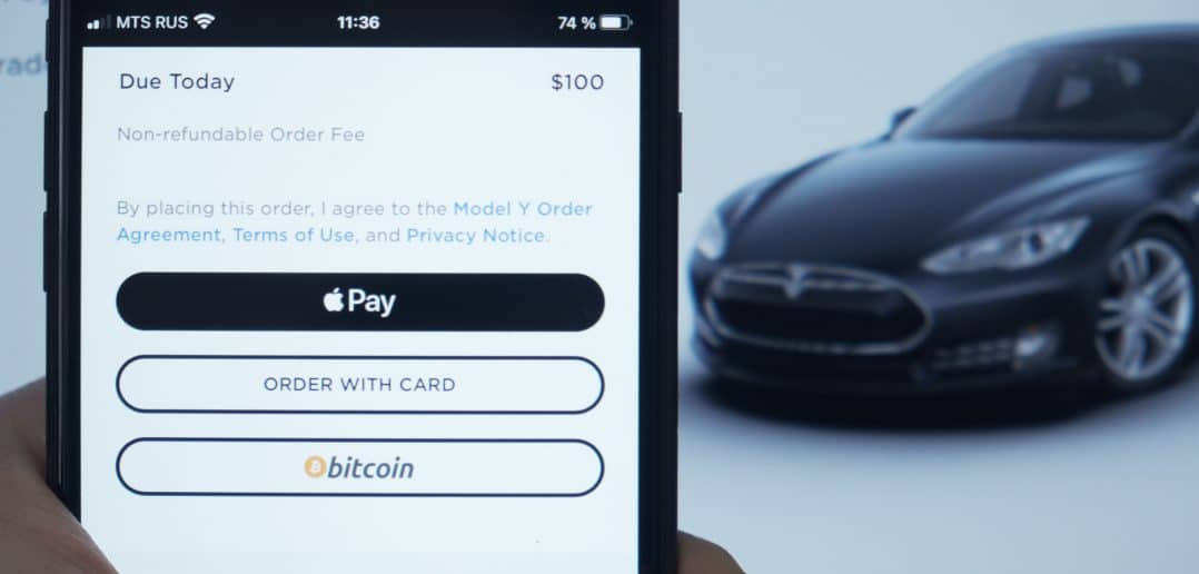 Read more about the article Tesla accepts Bitcoin as a means of payment